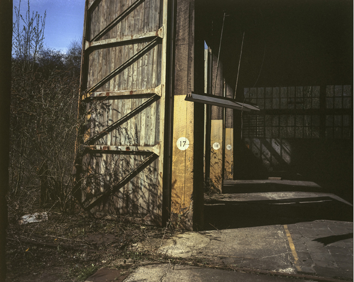 philippe mailleux, hangar, train, abandonné