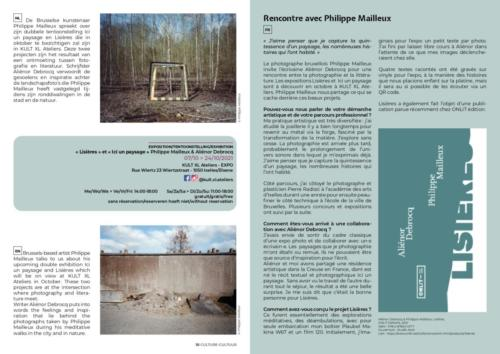 BROCHURE CULTURE KULT XL Expo 2021 Mailleux Philippe