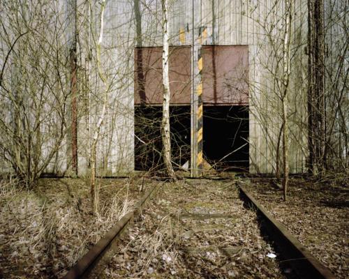 Philippe Mailleux, hangar, train abandonné, Charleroi, Lisières